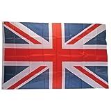 Union Jack Mas en métal et drapeau du Royaume Uni