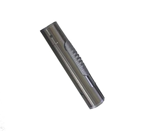 takestop® 2in 1Taschenlampe LED + Feuerzeug winddicht USB ohne flamme no Gas Akku