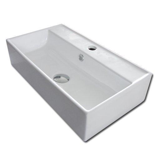 """Design Waschbecken """"Narni"""" mit Überlauf"""