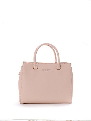 lancaster-paris-mujer-52711poudre-rosa-cuero-bolso-de-mano