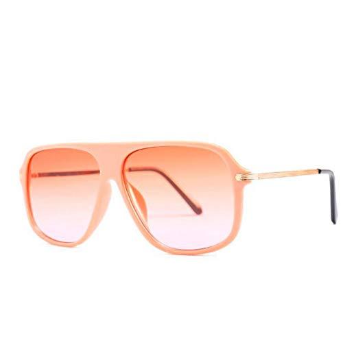 HYUHYU Vintage Square Sonnenbrille Männer Flache Top Sonnenbrille Frauen Sonnenbrille Für Männlich Weiblich Shades Cool