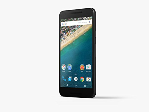 LG Nexus 5X H791 5 2  SIM   nica 4G 16GB 2700mAh Negro - Smartphone  13 2 cm  5 2    16 GB  12 MP  Android  6 0  Negro