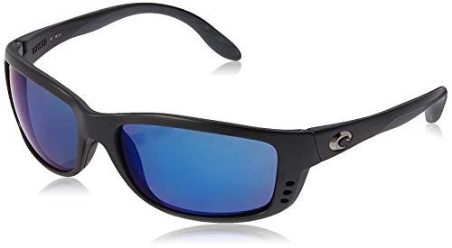 Costa Zane Plastic Frame Blue Mirror Lens Men's Sunglasses ZN11OBMP
