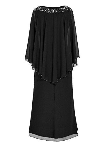 Dresstells Robe de demoiselle d'honneur Robe de soirée Robe de mère de mariée longueur ras du sol Menthe