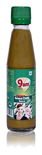 9am Green Chilli Sauce, 200 grams