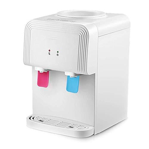 Elektrische Heißwasserspender für Küche Wasserspender Haushalt Mini Wasserspender Büro Kühlwassertank, Push Cup, um Wasser zu nehmen (Farbe: Weiß, Größe: 26 * 39 * 30 cm)
