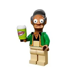 The Simpsons Lego Mini Figure Apu 8