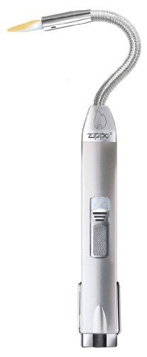 Zippo Flex Neck Satin Silver Stabfeuerzeug, Aluminium, Silber, M