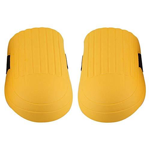 Fdit 1 Paar Eva Knieschützer Kneelet Schutzausrüstung für den BAU Gartenarbeit Bodenbelag im Freien(Gelb)