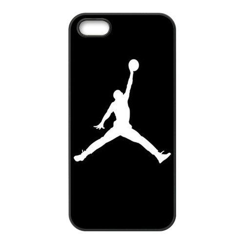 Générique Carcasa rígida de plástico para iPhone 5/5S, diseño de Michael Jordan NBA baloncesto