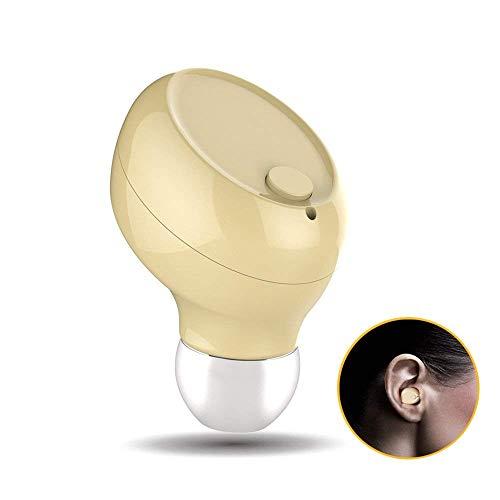 Mini Bluetooth Headset Bluetooth 4.1 Wireless Headset mit Mikrofon Freisprecheinrichtung Magnetische USB Ladegerät Leichte Bluetooth Kopfhörer 6 Stunden Spielzeit für Alle Smartphone Bluetooth-Gerät Mini-usb Headset