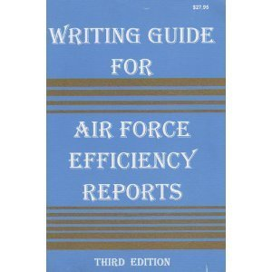 writing-guide-for-air-force-efficiency-reports-by-douglas-l-drewry-1989-06-01