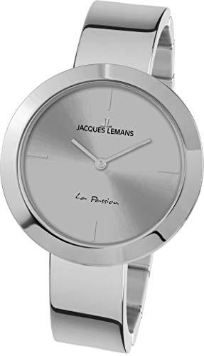 Jacques Lemans La Passion Reloj de mujer cuarzo 37mm correa de acero 1-2031I