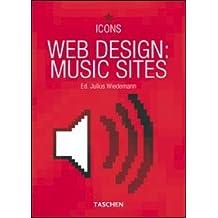 Web design: music sites. Ediz. italiana, spagnola e portoghese