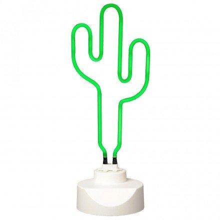 Lampada Neon Cactus verde–La chaise longue–37–1l-009