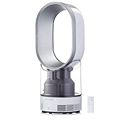 Dyson AM10 Humidifier and Fan, White / Silver by Dyson