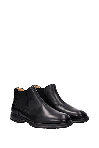 GOOD0642670 Salvatore Ferragamo Chaussure montante Homme Cuir Noir Noir