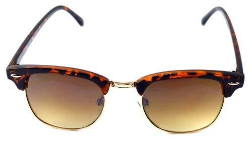 Sonnen-Brillen Damen Sonnenbrille Tiger-Muster braun Desluxe Sun-Glasses Sie und Ihn CE UV400 (Tiger Brown) 3669