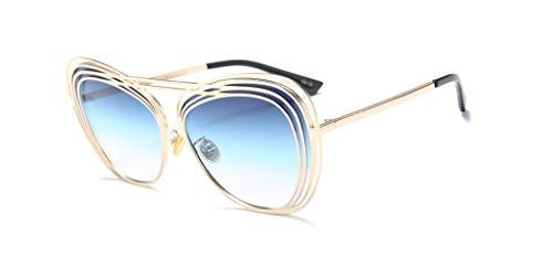 Retro Aviator Polarized Sunglasses UV406 Protection HD Lenses Metal Lightweight Frame for Women Men with Case Designer Style