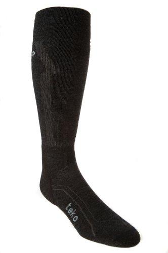 TEKO Winter Sport Ski Pro Ultralight Socke, Herren Mädchen Jungen damen, anthrazit (Pro Sport-socke Dry)
