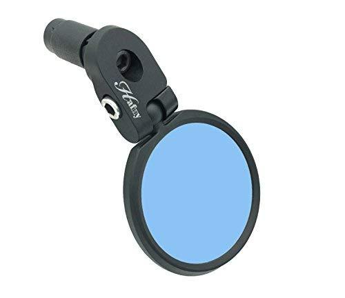 Hafny HF-MR086 Bar End Bike Mirror Stainless Steel Safe Rearview Mirror