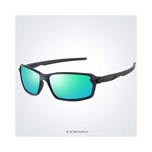 Sport-Sonnenbrillen, Vintage Sonnenbrillen, Polarisiert Sunglasses Men Driving Glasses Fashion Sun Glasses For Woman Male Sport Glassegoggles Eyewear Brand Designer Oculos S18318 Balck Green