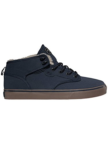 Globe Motley Mid, Chaussures montantes homme bleu marine / Cendre fourrure