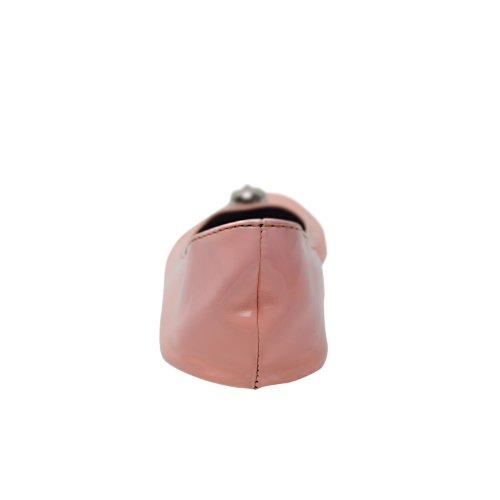 Scarpe ballerina piegabille con cranio disponibile in molti colori e tagli fino 43,5 con una borsa in raso Arancione