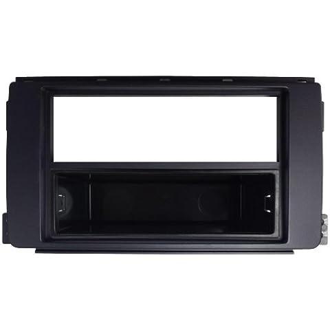 Autoleads DFP-13-05 - Soporte doble DIN para radio de coche para Smart Fortwo, color negro