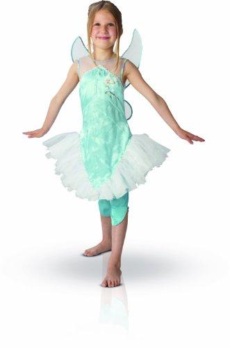Kinder Periwinkle Kostüm - Rubie's Disney PeriwinkleTM-Kostüm für Mädchen - 3-4 Jahre
