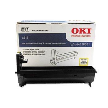 Okidata C711 Series Yellow Image Drum Kit (20,000 Yield), Part Number 44318501 by Oki Data - Oki Image Drum Kit