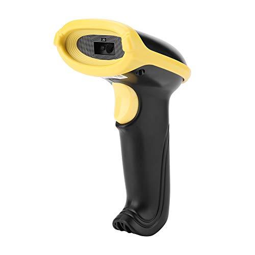VBESTLIFE Wired Handheld 1D 2D Barcode Leser,Scanning Gun Scanner USB Bar QR Code Scanner,unterstützt Bildschirm scannen, WeChat, alipay und andere Mobile Zahlungen (3d-scanner-handheld)
