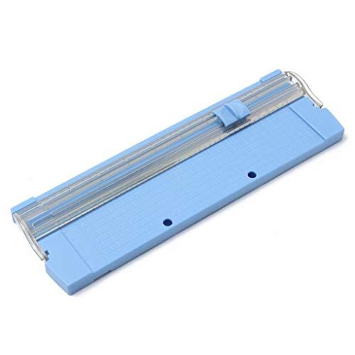 Yongse Tragbarer Papierschneider für A4 manuelle Papierschneidemesser 26 x 8,5cm (Portable Paper Trimmer)
