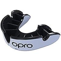 OPRO Silver Sport Pieza Self Fit Gen4Unisex Negro/Blanco