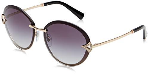 Bulgari Damen 0BV6101B 20148G 61 Sonnenbrille, Pink Gold/Greygradient