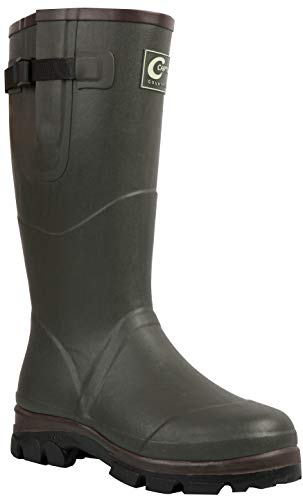 VTK Outdoor - Stiefel aus Gummi, Futter Neopren 4 - Efficiency Countryside - warme Stiefel - Jagd, Garten, Angeln, Wandern, 43