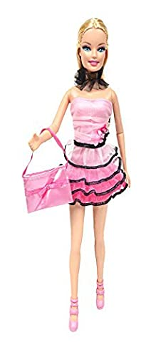 Damara Kids Bandeau Top + Tiered Skirt Suit For Doll by Damara