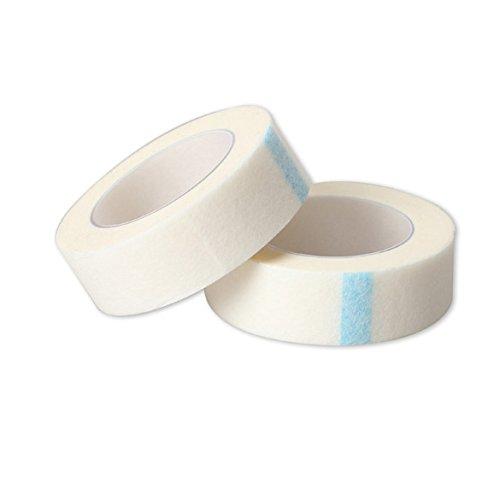 Everpert 2 Rollen Professionelle Wimpern Wimpernverlängerung Micropore Papier Medical Tape -