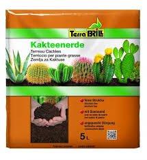 Terriccio concime piante grasse 5 l drenante fertilizzante giardinaggio