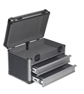 Service- und Montagekoffer - LxBxH 415 x 275 x 305 mm anthrazit - Koffer Mehrzweckkoffer Sortimentskoffer Transportkoffer Universalkoffer Werkzeugkoffer