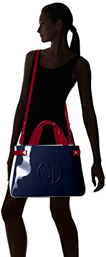 Shopping bag Donna multicolore Armani Jeans 922548 CC852 39635 bleu