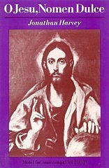 O Jesu, Nomen Dulce: SATB Unaccompanied