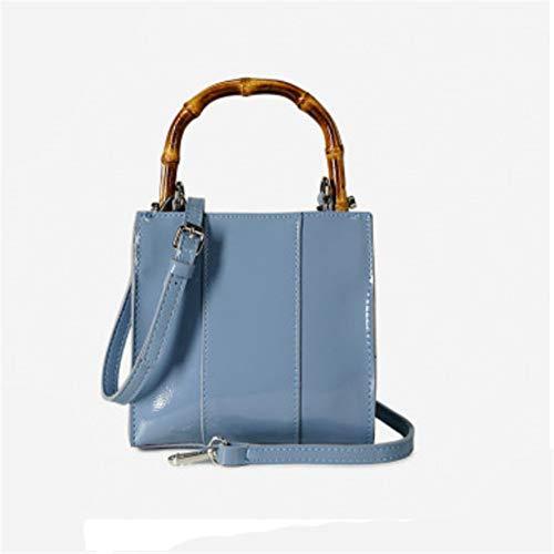 AJCAW Lässige Umhängetasche Business Horizontal Oxford Cloth Stiletto-Tasche 26 x 20 x 10 cm Braun Oxford Stiletto