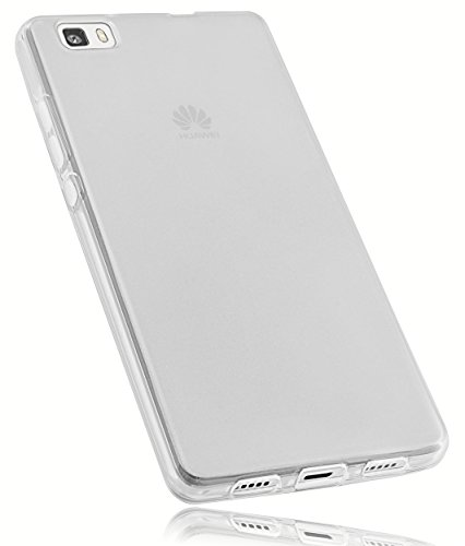 mumbi TPU Schutzhülle Huawei P8 Lite Hülle transparent weiss