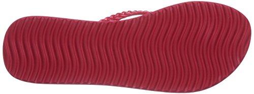 flip*flop - Slim Layer Cork, Infradito Donna Multicolore (Mehrfarbig (613 rose red))