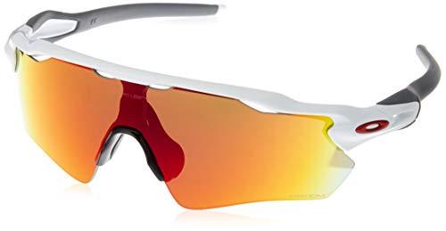 Oakley Unisex-Erwachsene Radar Ev Path 920872 Sonnenbrille, Weiß (Blanco/Gris), 0