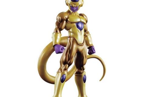 Dragon Ball Z Shodo Golden Freeza Figura acción Standard