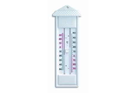 Maxi-Mini-Thermometer weiß