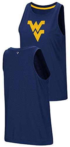 Colosseum Damen West Virginia Bergsteiger kleinere Passform Bet on Me Muscle Tank Top Shirt, Damen, blau, WOMENSIZE M=4/6 -