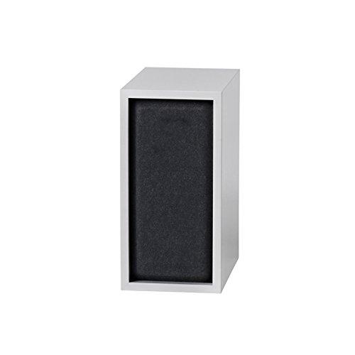 muuto-stacked-akustikplatte-s-schwarz-stoff-black-melange-nur-akustikplatte-ohne-modul-ein-modul-mit